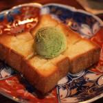 はちみつ抹茶トースト(Beckyコラボ)