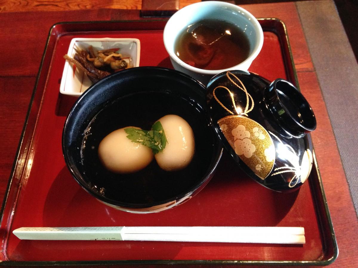 お吸物ケイラン膳(郷土食)