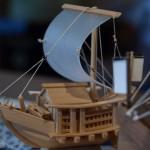 北前船模型S-杉-